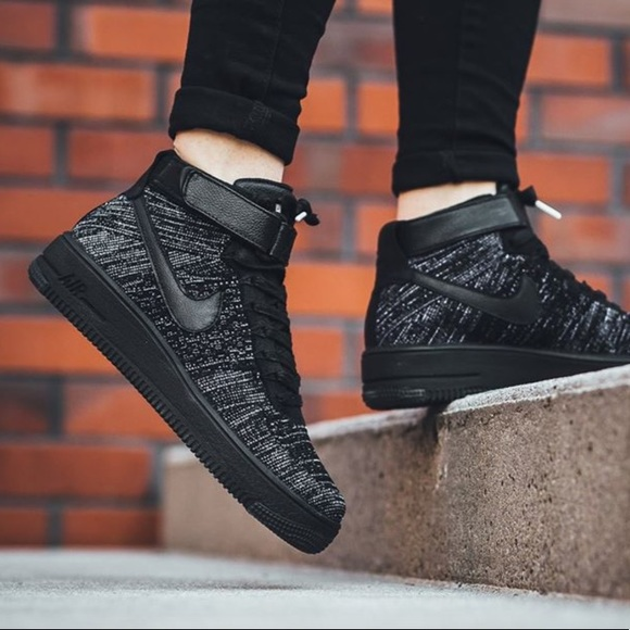 Nike Shoes Air Force 1 High Top Flyknit Womens Poshmark